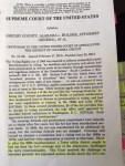 Yep, an original copy of the decision.