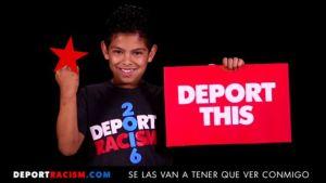 Deport racism kid