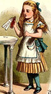 Alice_drink_me
