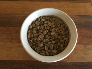 coffee beans green