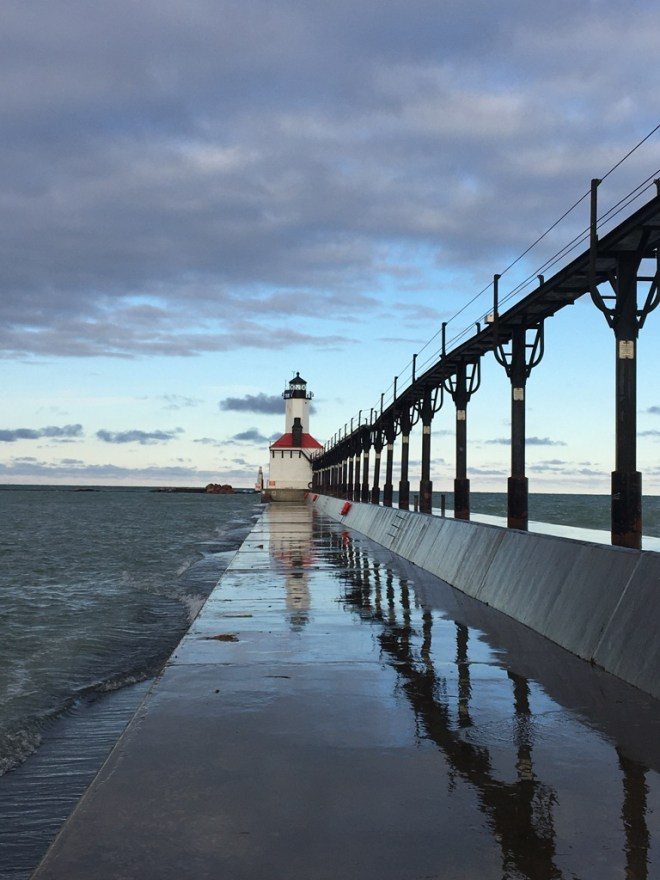 The Lighthouse in Michigan City, Indiana