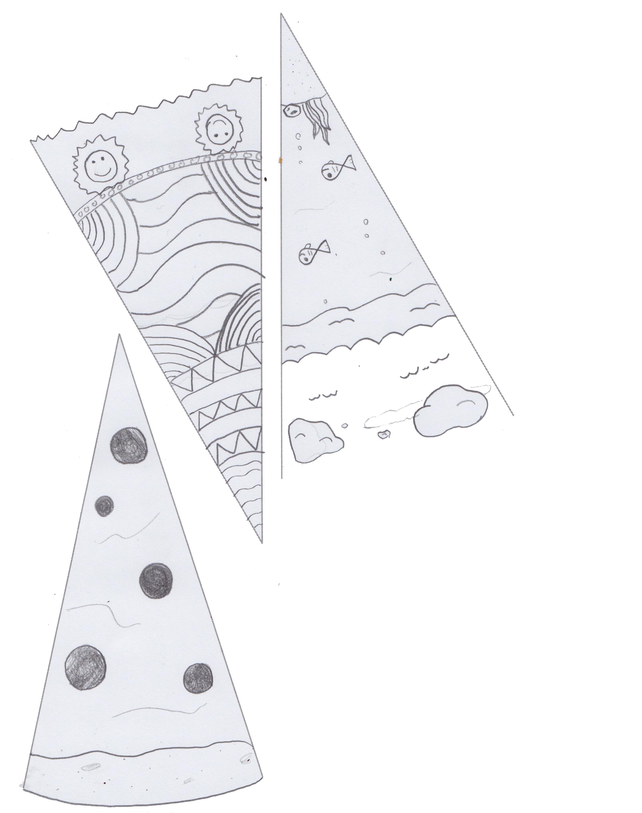 Mandala Worksheet Digital Art A B