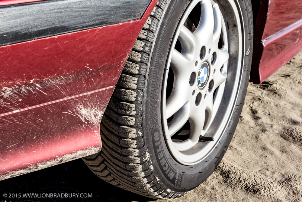 BMW E36 323i - Michelin CrossClimates First Impressions