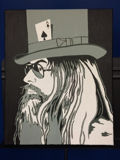 Leon Russell by Tony Logan