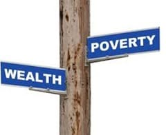 Wealth or Poverty?