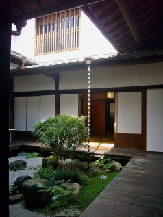 Idolmaker opens as the head priest at the Tabata Shrine gazes out on a courtyard garden just like this, troubled by an evil that has just intruded on his peaceful life.