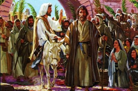 right believing - Jesus on Donkey