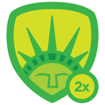Historian level 2 badge
