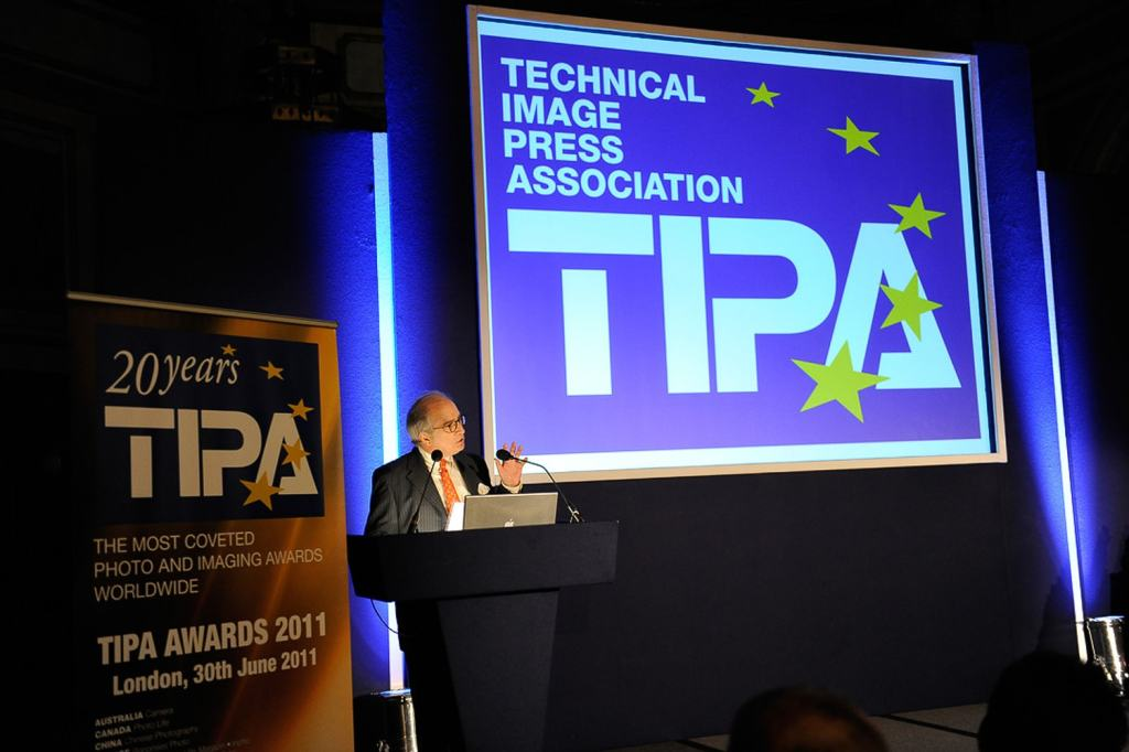 Speaker at a TIPA conference