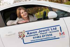 Book keeper in vehicle