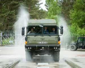 MOD Vehicle Wash at Aldershot