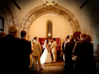 Farnham Castle Chapel Blessing