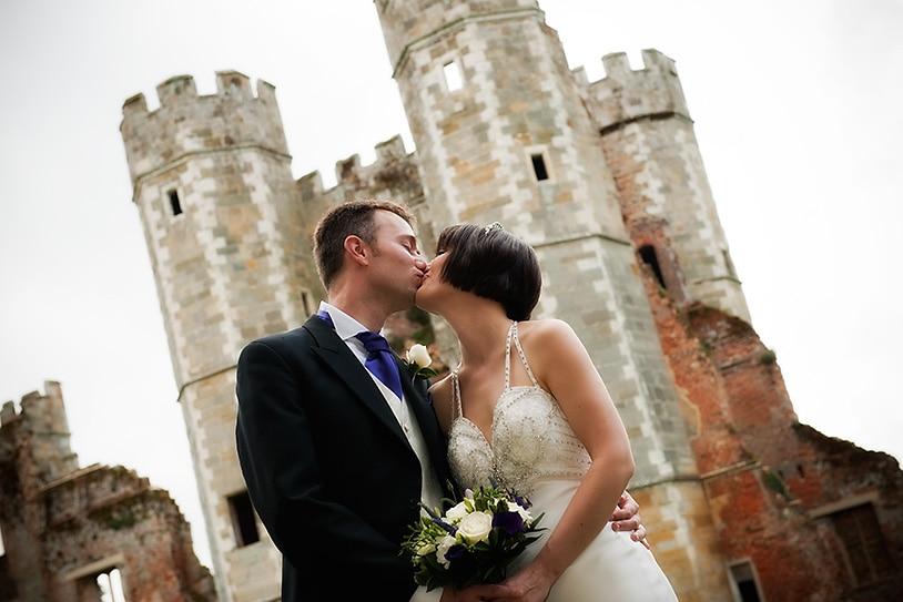 Wedding at The Tudor Mansion, Cowdray Ruins