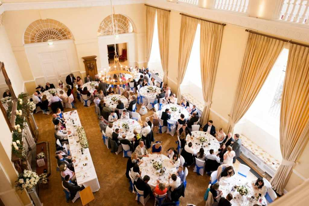 Wedding Breakfast at Farnham Castle
