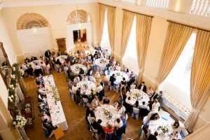 Wedding Breakfast at Farnham Castle