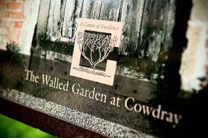 The Walled Garden at Cowdray Park, midhurst