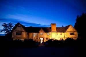 Goodnight kiss at Cain Manor, Farnham