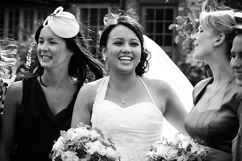 Bride at The Barn at Bury Court