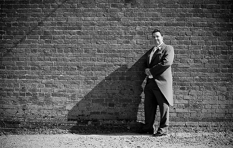 Groom at The Barn at Bury Court