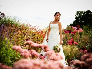 Beautiful Bride at The Barn at Bury Court, Bentley, Surrey