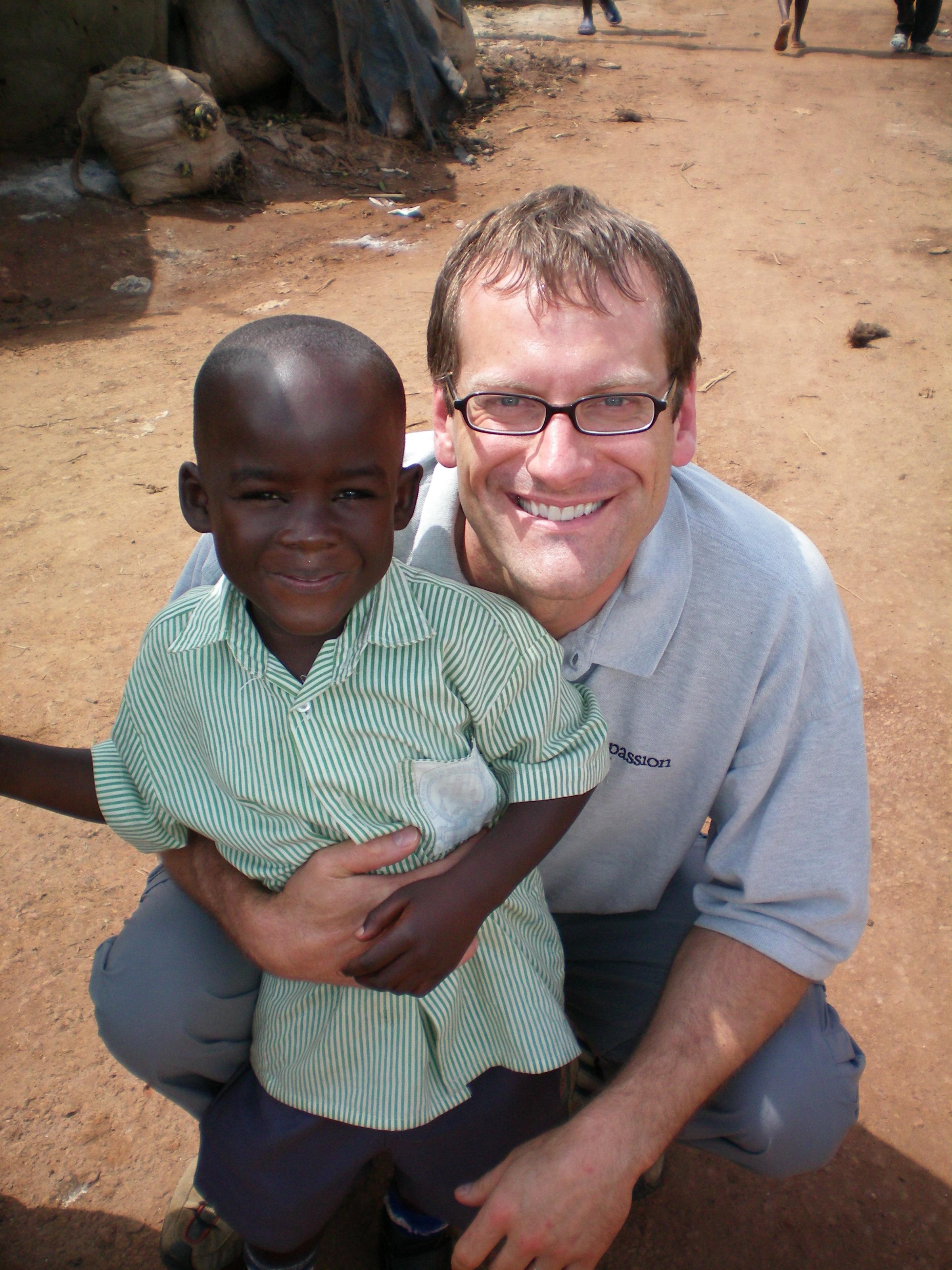 Stephen & Uganda Child
