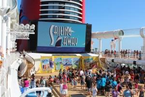 Disney Fantasy Sail Away Party