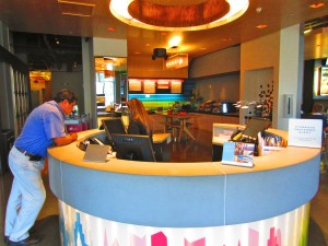 Aloft Houston by the Galleria Lobby