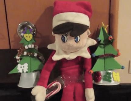 Elf on the Shelf on the Disney Cruise