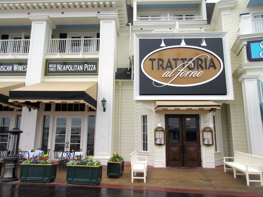Complete Guide to Disney World Restaurants Reopening: Trattoria al Forno at Disney Boardwalk Inn