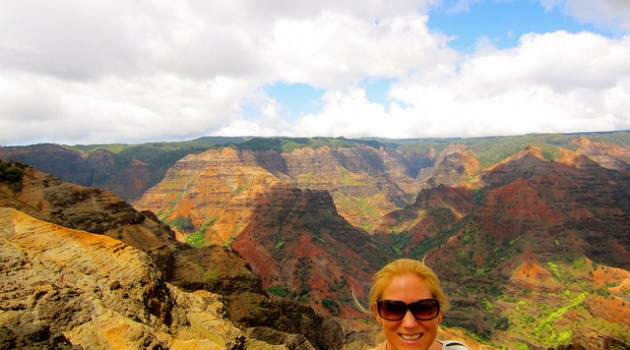 Grand Canyon of the Pacific in Kauai