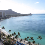 Royal Hawaiian and Diamond Head