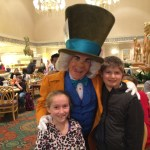 Disney Dining at 1900 Park Fare with Mad Hatter