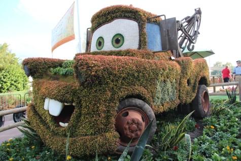 2015 Epcot Flower & Garden Festival Topiaries
