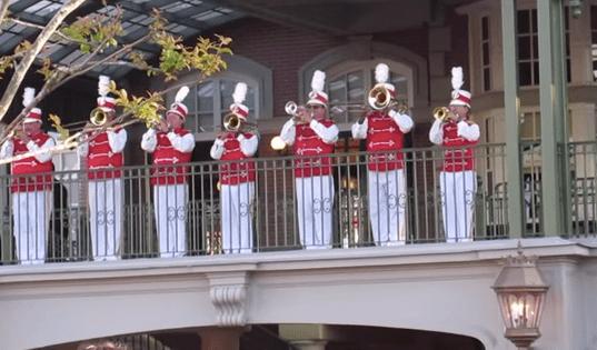 Flag Retreat Ceremony at Magic Kingdom