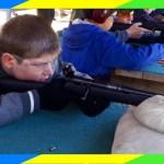rifle shooting, Boy Scouts Campout