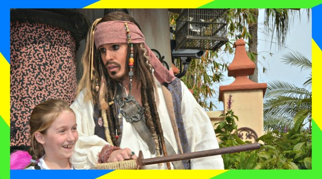 Pirate Tutorial with Captain Jack Sparrow