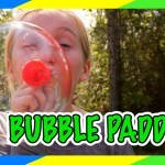 Jones Family Bubble Paddle Challenge