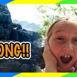 Parkour at Universal Orlando, Reign Of Kong construction, Wizarding World of Harry Potter