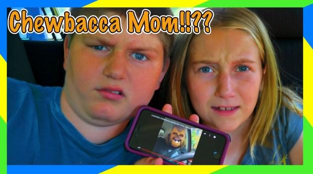 Kids React To Laughing Chewbacca Mom!