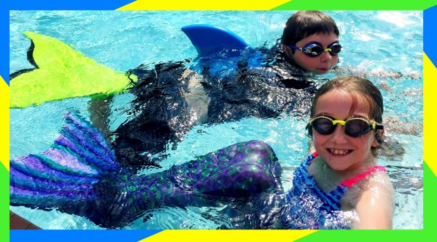 Mermaid Academy Swimming Challenge!