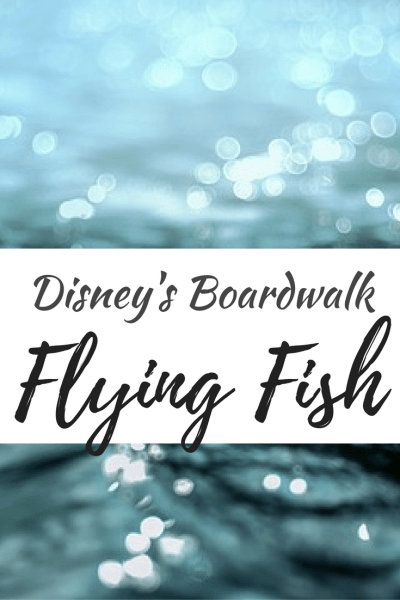 Find out more about the newly reopened Flying Fish Restaurant at Disney's BoardWalk