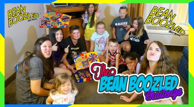 Family Vloggers Beanboozled Challenge!