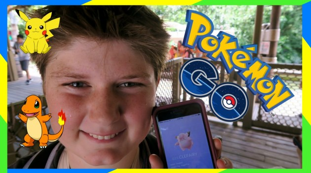 Magic Kingdom Pin Quest Game and Pokemon Go!