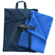 Sunland-Microfiber-Sports-Towels-2-Pack-Dark-Blue-16inch-X-32inch-0-0