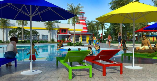LEGOLAND Florida Beach Retreat Opening April 2017!