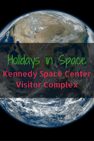 Holidays in Space Kicks Off the Season at Kennedy Space Center Visitor Complex