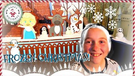 Disney Resorts Christmas Decorations!