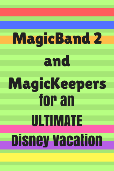 Solid-color MagicBand 2 and MagicKeepers Now Available