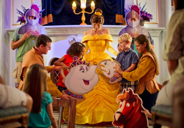 Celebrate Beauty and the Beast at Magic Kingdom