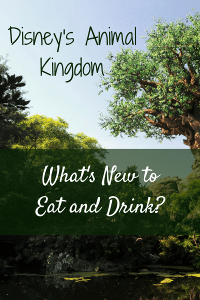 With the opening of Pandora - A World of Avatar and Rivers of Light, there's plenty of new drinks and dining at Disney's Animal Kingdom.